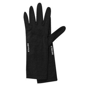 Rukavice Devold Innerliner Velikost rukavic: M / Barva: černá