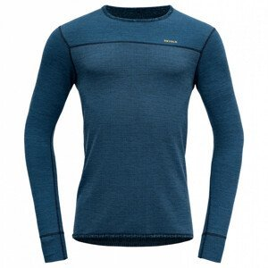Pánské funkční triko Devold Kvitegga Man Shirt Velikost: XXL / Barva: modrá