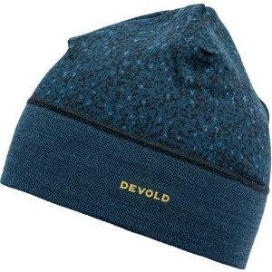 Čepice Devold Kvitegga Beanie Barva: modrá