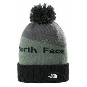 Čepice The North Face Recycled Pom Pom Barva: šedá/černá