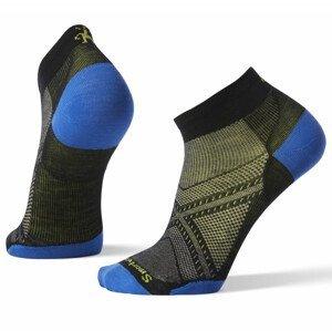 Pánské ponožky Smartwool Performance Run Zero Cushion Low Cut Velikost ponožek: 46-49 / Barva: černá/modrá