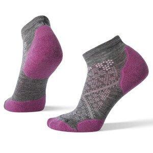 Dámské ponožky Smartwool Performance Run Trgtd Cushion Low Cut Velikost ponožek: 38-41 / Barva: šedá/fialová