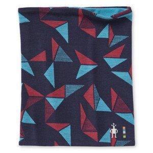 Multifunkční šátek Smartwool Merino 250 Reversible Pttrn Neck Gaiter Barva: modrá/červená