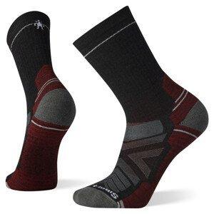 Pánské ponožky Smartwool Performance Hike Light Cushion Crew Velikost ponožek: 46-49 / Barva: šedá/červená
