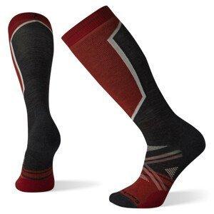 Pánské podkolenky Smartwool Performance Ski Full Cushion OTC Velikost ponožek: 46-49 / Barva: černá/červená