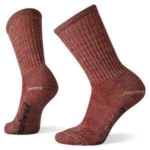 Dámské ponožky Smartwool Classic Hike Light Cushion Crew Velikost ponožek: 38-41 / Barva: červená