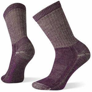 Dámské ponožky Smartwool W Classic Hike Full Cushion Crew Velikost ponožek: 34-37 / Barva: vínová