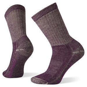 Dámské ponožky Smartwool W Classic Hike Full Cushion Crew Velikost ponožek: 38-41 / Barva: vínová