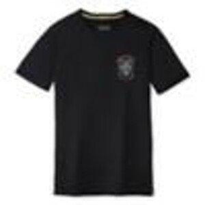 Pánské funčkní triko Smartwool M Merino Sport 150 Iceaxdscnt Grhpc Tee Velikost: M / Barva: černá