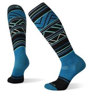 Dámské podkolenky Smartwool W Performance Snow Trgtd Cshn Ptrn Otc Velikost ponožek: 38-41 / Barva: modrá
