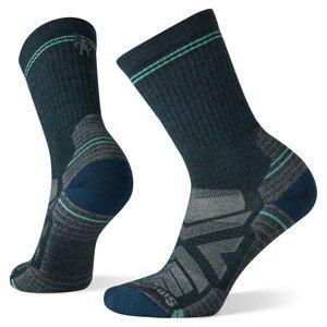 Dámské ponožky Smartwool W Performance Hike Light Cushion Crew Velikost ponožek: 34-37 / Barva: zelená