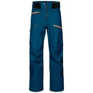Pánské kalhoty Ortovox 3L Deep Shell Pants Velikost: M / Barva: modrá