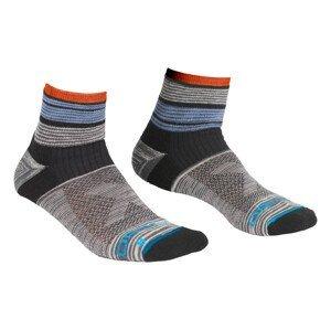 Pánské ponožky Ortovox All Mountain Quarter Socks Velikost ponožek: 39-41
