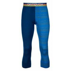 Pánské 3/4 spodky Ortovox 185 Rock'N'Wool Short Pants Velikost: XL / Barva: modrá