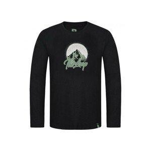 Pánské triko Loap Alex Velikost: XXL / Barva: černá