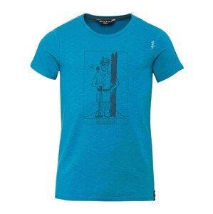 Pánské triko Chillaz Homo Mons Sportivus Velikost: S / Barva: modrá