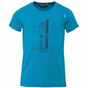Pánské triko Chillaz Homo Mons Sportivus Velikost: L / Barva: modrá