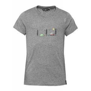 Pánské triko Chillaz Chill Outside Velikost: M / Barva: šedá