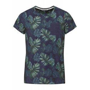 Pánské triko Chillaz Kamu Tropical Velikost: S / Barva: modrá/zelená