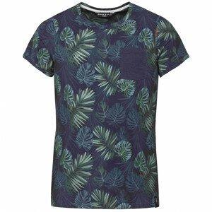 Pánské triko Chillaz Kamu Tropical Velikost: L / Barva: modrá/zelená