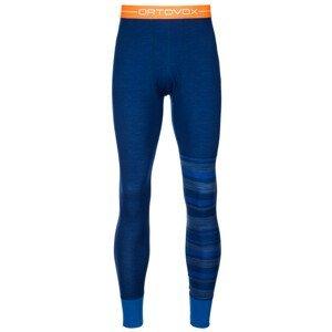 Pánské funkční spodky Ortovox 210 Supersoft Long Pants Velikost: M / Barva: modrá