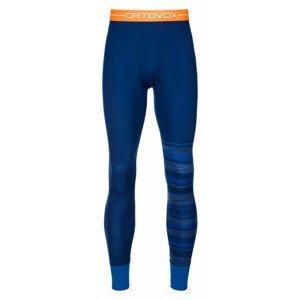 Pánské funkční spodky Ortovox 210 Supersoft Long Pants Velikost: XL / Barva: modrá