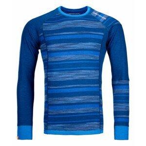 Pánské funkční triko Ortovox 210 Supersoft Long Sleeve Velikost: M / Barva: modrá