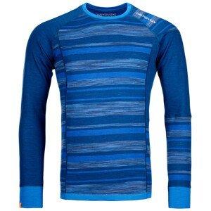 Pánské funkční triko Ortovox 210 Supersoft Long Sleeve Velikost: XL / Barva: modrá