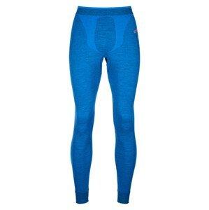 Pánské funkční spodky Ortovox 230 Competition Long Pants Velikost: S / Barva: modrá
