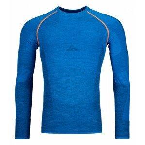 Pánské funkční triko Ortovox 230 Competition Long Sleeve Velikost: S / Barva: modrá