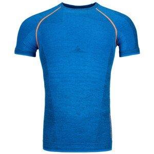 Pánské funkční triko Ortovox 230 Competition Short Sleeve Velikost: M / Barva: modrá