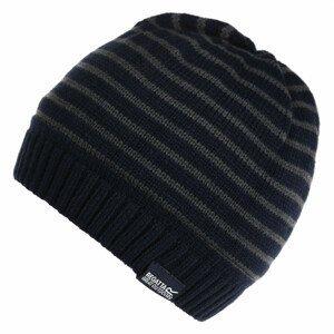 Čepice Regatta Tarley Hat Dětská velikost: 11-13 let / Barva: černá/šedá