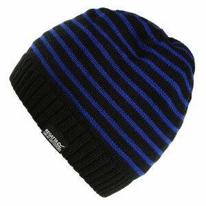 Čepice Regatta Tarley Hat Dětská velikost: 4-6 let / Barva: černá/modrá