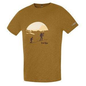 Pánské triko Direct Alpine Bosco 1.0 - Ascent Velikost: M / Barva: hnědá