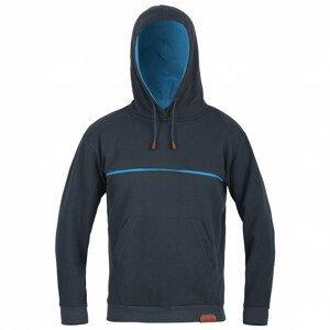 Pánská mikina Direct Alpine Hoodie 1.0 Velikost: L / Barva: černá/modrá