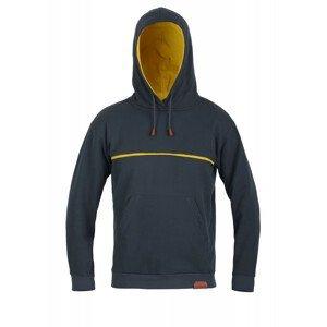 Pánská mikina Direct Alpine Hoodie 1.0 Velikost: M / Barva: černá/žlutá