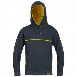 Pánská mikina Direct Alpine Hoodie 1.0 Velikost: XL / Barva: černá/žlutá