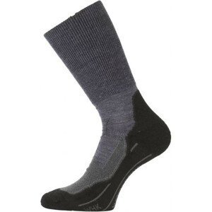 Ponožky Lasting WHK Velikost ponožek: 38-41 / Barva: šedá/černá