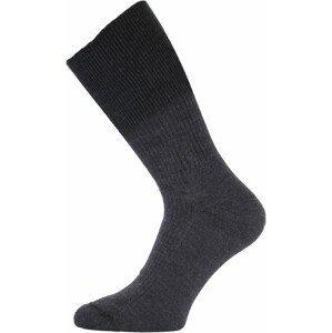 Ponožky Lasting WRM Velikost ponožek: 42-45 / Barva: šedá/černá