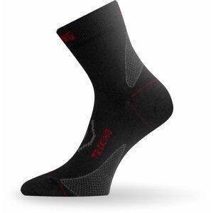 Ponožky Lasting TNW Velikost ponožek: 42-45 / Barva: černá