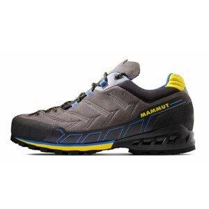 Pánské turistické boty Mammut Kento Low GTX® Men Velikost bot (EU): 42 (2/3) / Barva: šedá/žlutá