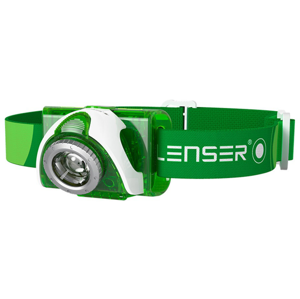 Led Lenser SEO 3 Headlamp Green
