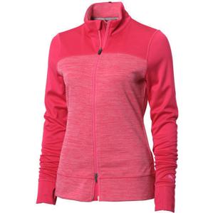 Puma Colorblock Full Zip Womens Jacket Rose XS