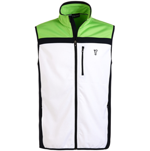 Golfino Techno Fleece Mens Vest Optic White 46
