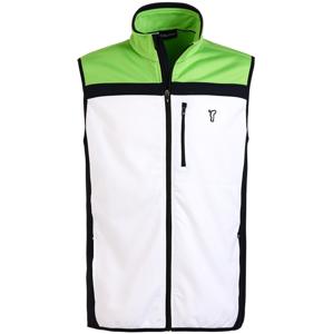 Golfino Techno Fleece Mens Vest Optic White 48