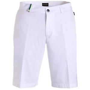 Golfino Techno Strech Pánské Kraťasy White 48