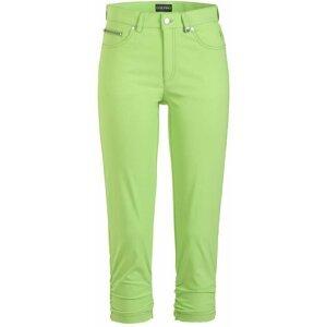 Golfino Ruffled Techno Stretch Capri Dámské Kalhoty Green 34
