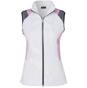 Golfino Stretch Techno Fleece Womens Vest Optic White 44