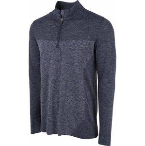 Puma Evoknit Seamless 1/4 Zip Mens Sweater Peacoat L