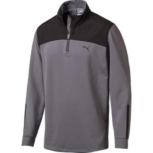 Puma PWRWARM 1/4 Zip Mens Sweater Quiet Shade XL